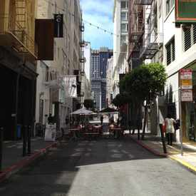 Photo of Maiden Lane in Downtown