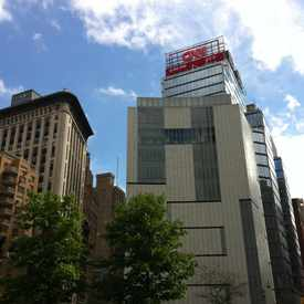 Photo of CNN Studios in Columbus Circle
