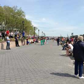 Photo of Battery Park Street Dancers in Financial District