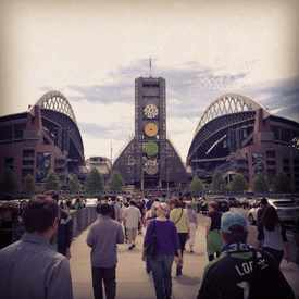 Photo of CenturyLink Field in Pioneer Square