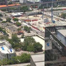 Photo of South Miami Av Street Closure  in Brickell