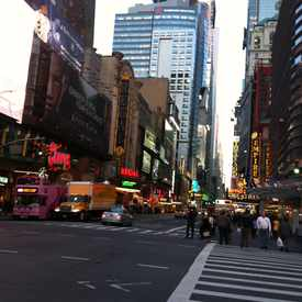 Photo of Times Square  in Clinton