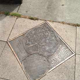 Photo of Historical markers decorate China Town in Old Town/Chinatown