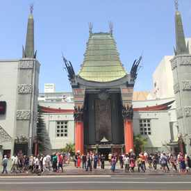 Photo of Chinese Theatre in Hollywood