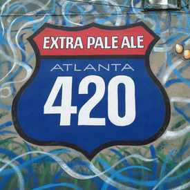 Photo of Sweetwater 420 Pale Ale Street Art in Virginia Highland