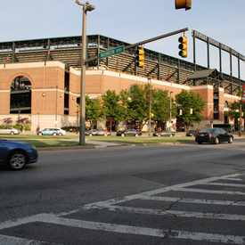 Photo of Orioles Park in University of Maryland