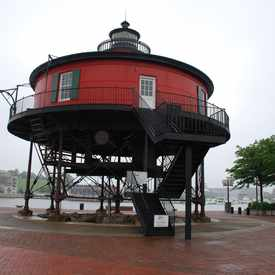 Photo of Seven Foot Knoll Light House in Inner Harbor
