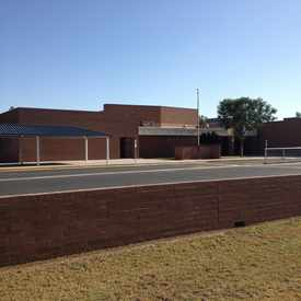 Photo of Crismon Elementary School in Dobson Woods