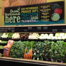 Photo of Local Produce Featured in Cascade Highlands