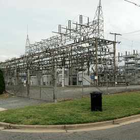 Photo of Jefferson Street Substation in Southwest Quadrant