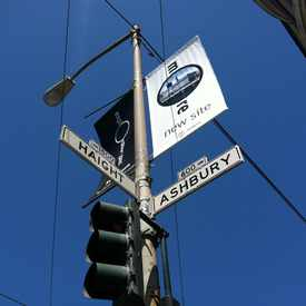 Photo of Ashbury St & Haight St in Haight-Ashbury