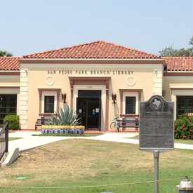 Photo of San Pedro Library in Tobin Hill