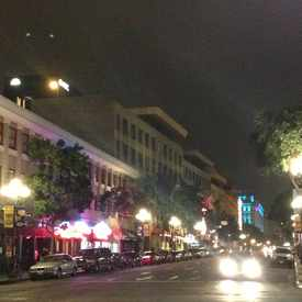 Photo of Intersection of 4th Avenue and G Street in Gaslamp Quarter