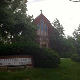 Photo of Clarendon United Methodist Church in Ashton Heights