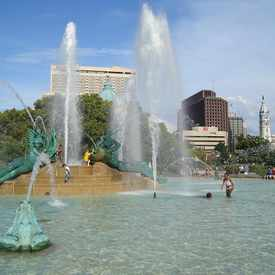 Photo of Swann Memorial Fountain in Center City West