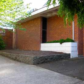 Photo of Peake Memorial Chapel in Historic Milwaukie