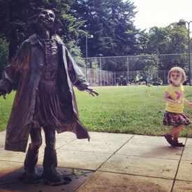 Photo of Beverly Cleary Sculpture Garden in Grant Park