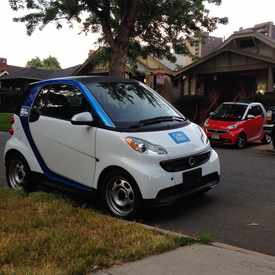 Photo of car2go Denver in Washington Park West