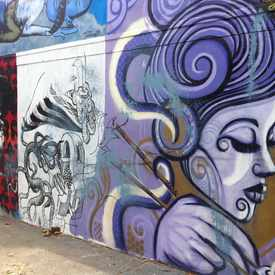 Photo of Street art at Haight and Laguna  in Pacific Heights