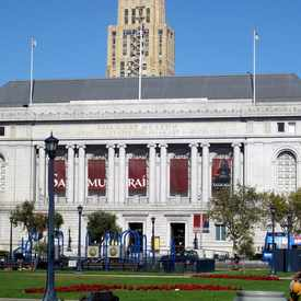 Photo of Asian Art Museum in Tenderloin