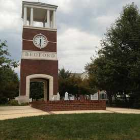 Photo of Bedford Clock Tower in North Raleigh