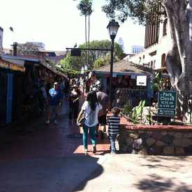 Photo of Olvera Street in Chinatown