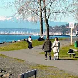 Photo of Myrtle Edwards Park in Interbay
