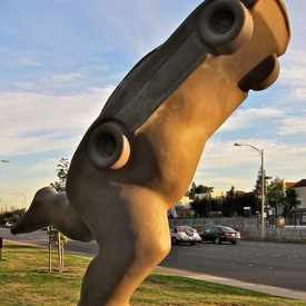 "Photo of ""Rrrun"" by Marta Thoma in Old Palo Alto"