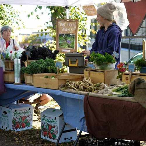 photo of Roslindale Farmers Market at Washington Street Boston MA US