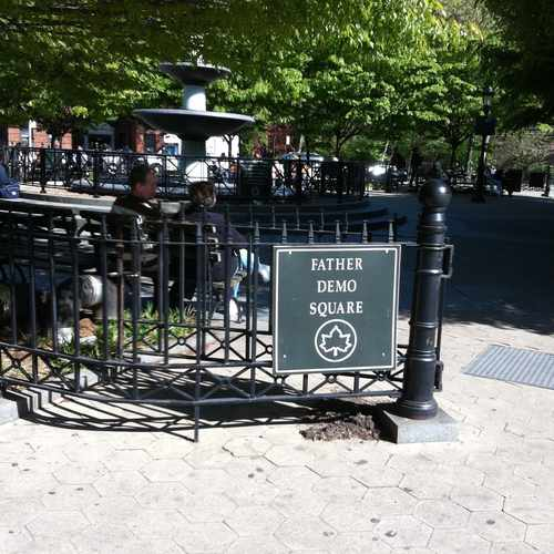 photo of Father Demo Square at 245 Bleecker Street New York NY 10014
