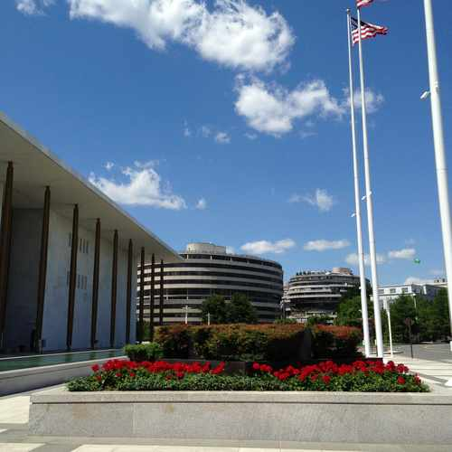 photo of The John F. Kennedy Center for the Performing Arts at 2700 F Street Northwest Washington DC 20566