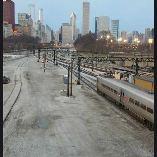 photo of Museum Campus/11th Street Station at South Michigan Avenue Chicago IL US
