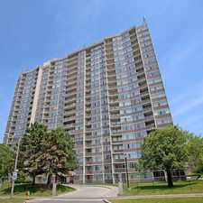 Rental info for Bay Mills Apartments in the Toronto area