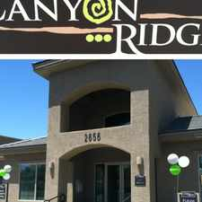Rental info for The Place at Canyon Ridge in the Tucson area