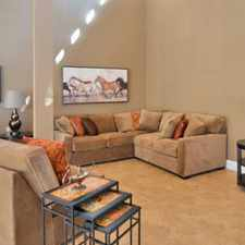 Rental info for CrestWind Townhomes and Apartments in the San Antonio area