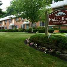 Rental info for Haddon Knolls Apartments, LLC in the Philadelphia area