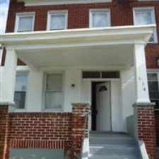 Rental info for This is a very nice home and has new Central Air, hardwood flooring (see photos!), owner will provide washer/dryer. Convenient location to public transportation, Loyola and Morgan State.Call 410-808-0230 to schedule a showing.Security dep negotiable. in the Ednor Gardens-Lakeside area