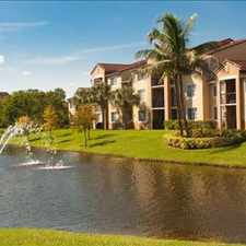Rental info for The Enclave Apartments at Waterways in the Coconut Creek area
