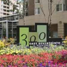 Rental info for 300 East Seventeenth Apartments in the Denver area