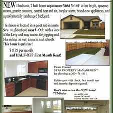 Rental info for NEW home on levy near  UOP! in the Oak Park area