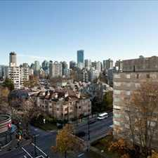 Rental info for Davie St and Cardero St: 1225 Cardero St, 1BR in the Vancouver area