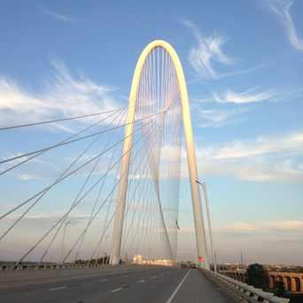 Photo of Margaret Hunt Hill Bridge in Dallas