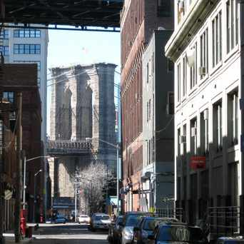 Photo of Views of the Brooklyn Bridge in DUMBO, New York