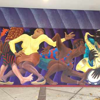 Photo of Takoma Junction Mural in Takoma Park