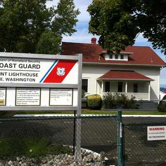 Photo of Coast Guard Lighthouse in Alki, Seattle