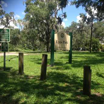 Photo of Epps Park in Seminole Heights, Tampa