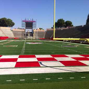 Photo of Bulldog Stadium in Hoover, Fresno