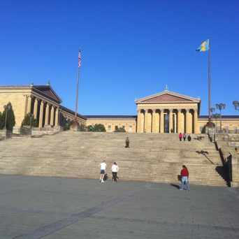 "Photo of ""Rocky"" Steps in Strawberry Mansion, Philadelphia"