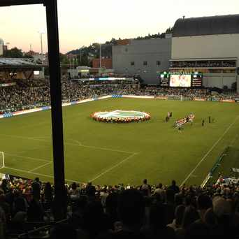 Photo of Jeld-Wen Field in Goose Hollow, Portland