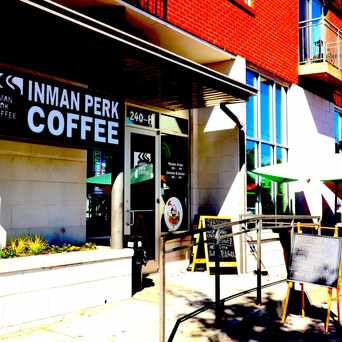Photo of Inman Perk Coffee in Inman Park, Atlanta